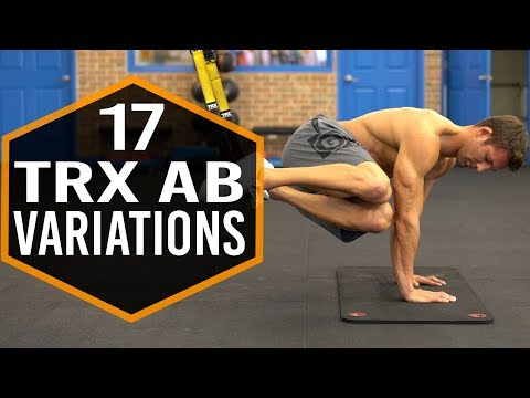 17 TRX Ab Exercise Variations
