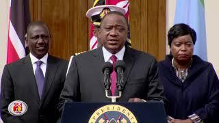 Uhuru: All terrorists killed, Kenya safe and secure