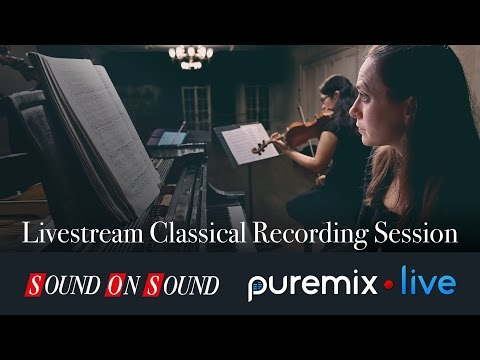 Live Classical Recording Session w/Melody Fader & Co