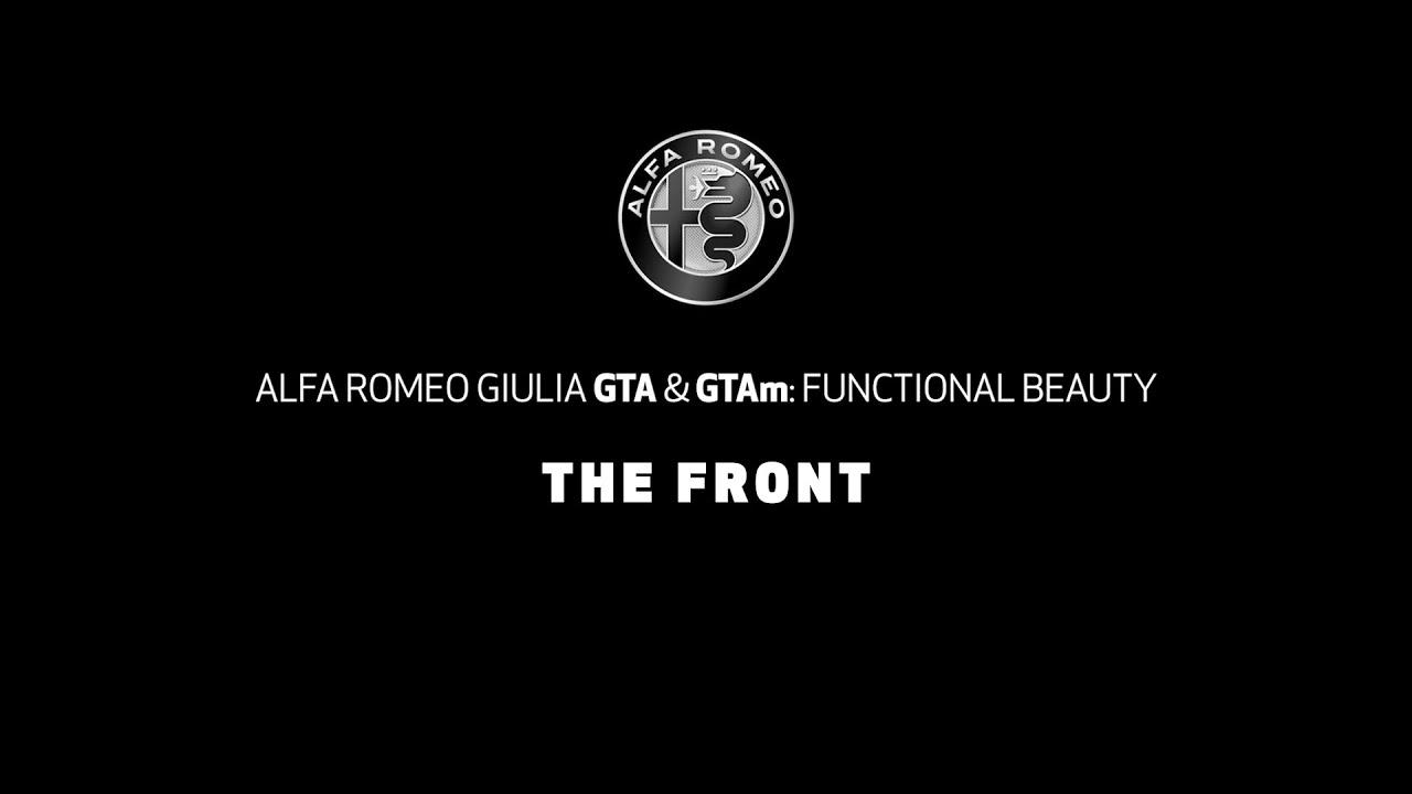 NUOVA ALFA ROMEO GIULIA GTAm | IL FRONTALE