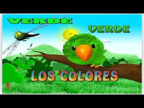 Los Colores - Video para Niños - El Color Verde / La Pelota Loca ...