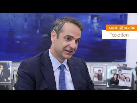 Kyriakos Mitsotakis Interview on Reuters
