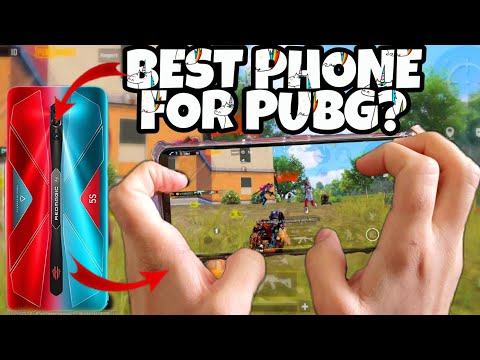 BEST PHONE FOR PUBG?🔥| RED MAGIC 5S HANDCAM | 5 Fingers + GYRO | #11