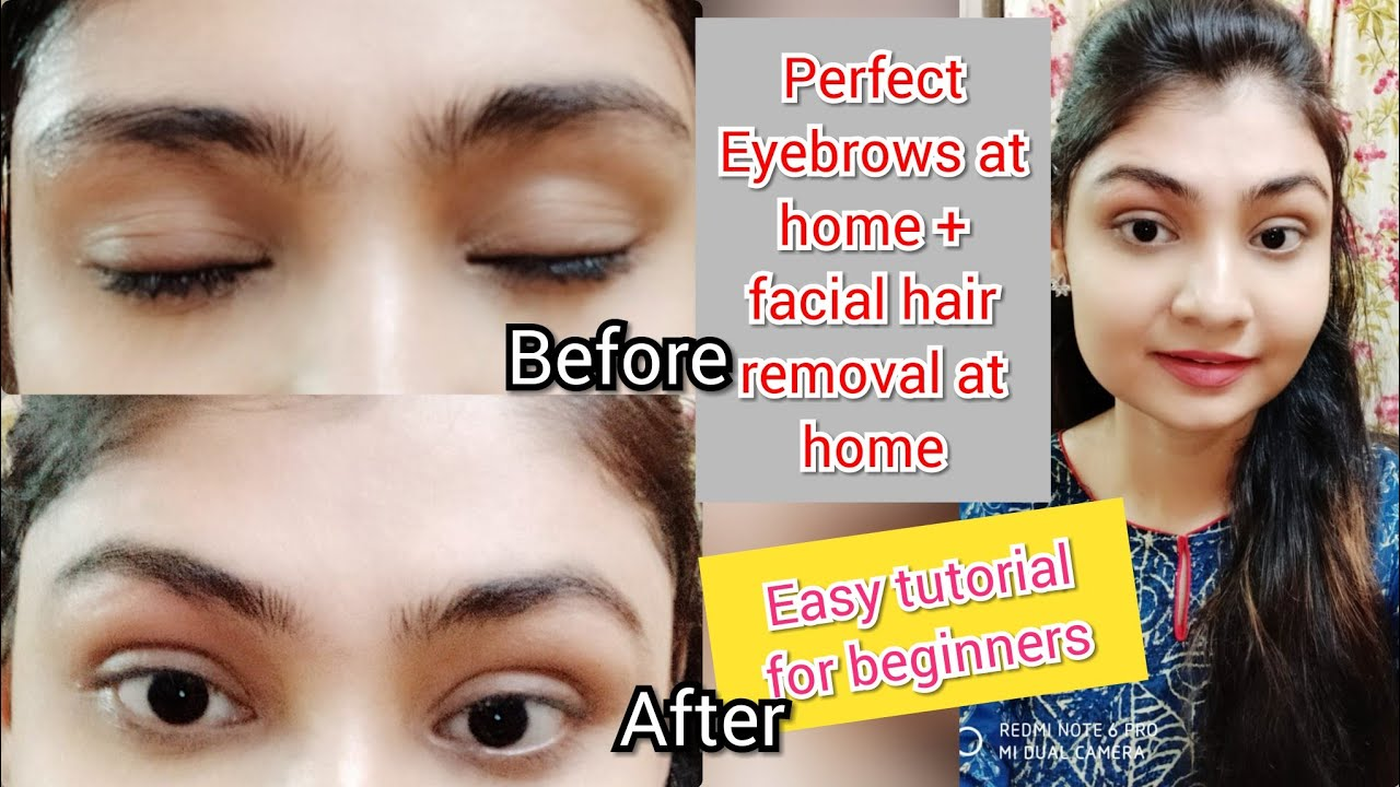 HOW TO GROOM, SHAPE & MAINTENAN EYEBROWS AT HOME ...