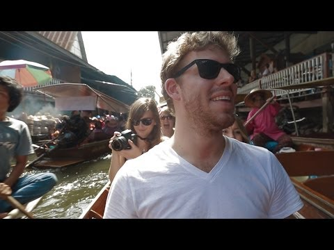 Monsoon Vlogging (Floating Market, Bartering, and Pouring Rain)