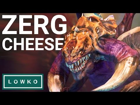 StarCraft 2: ZERG CHEESE Build Order!