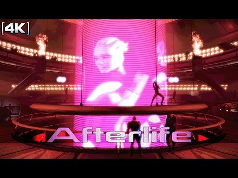 Mass Effect 2 - Omega: Afterlife Upper Level (1 Hour of Music) [4K]