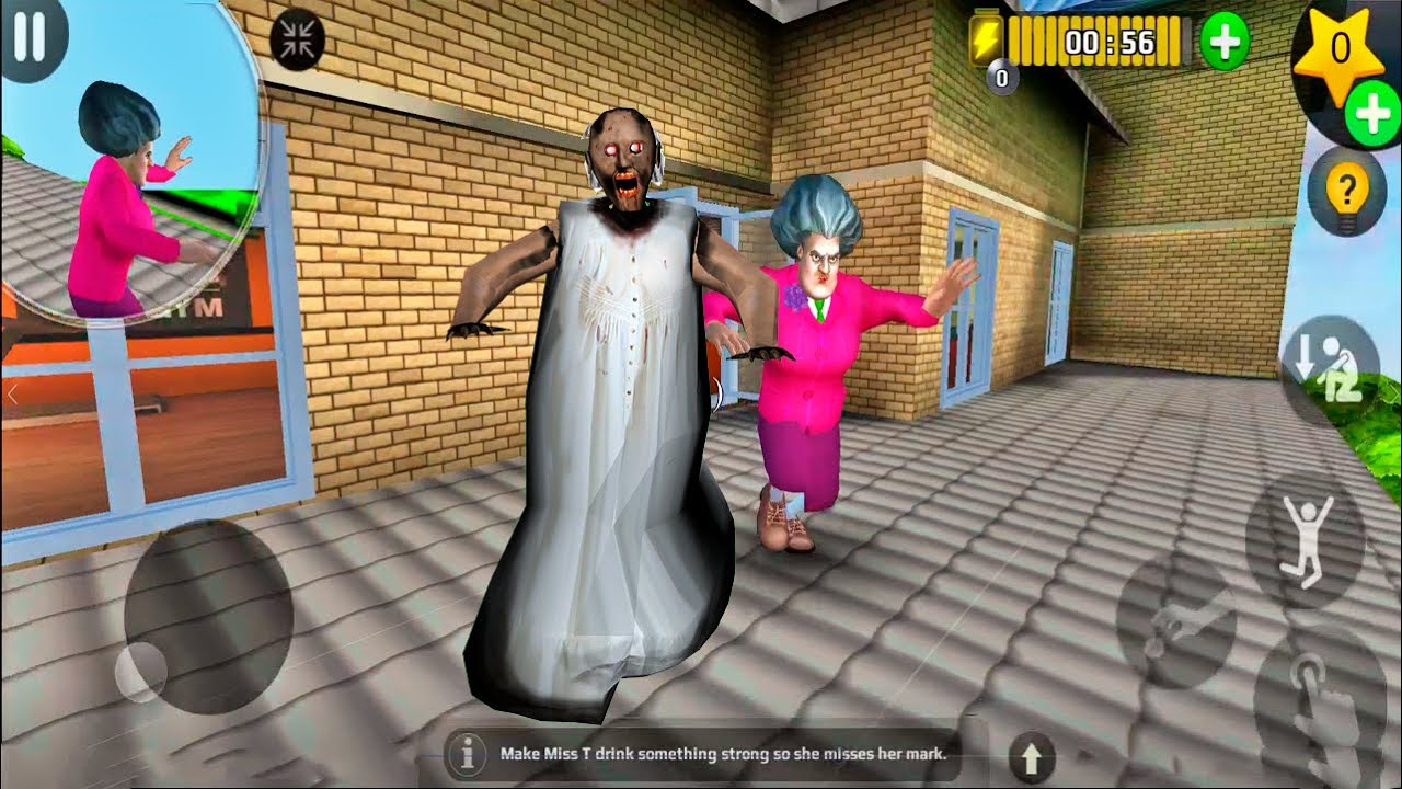 Download Scary Teacher 3D - New Levels Update New Chapter Miss T Granny Android Gameplay
