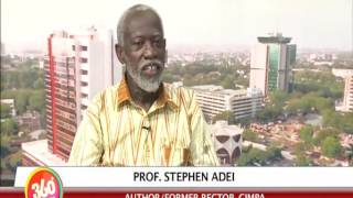 PROF.DR STEPHEN ADEI ON GHANAIAN LEADERS
