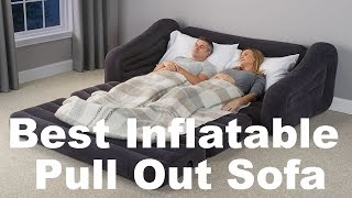 Inflatable Pull Out Sofa Review (Best Blow Up Couch Bed)