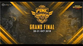 (LIVE) GRAND FINAL PINC JAKARTA 2018 - PUBG MOBILE INDONESIA
