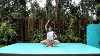 Gambar cover ODISSI Dancing Nature. Anandini Dasi.