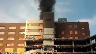 Grace Hospital Roof Fire