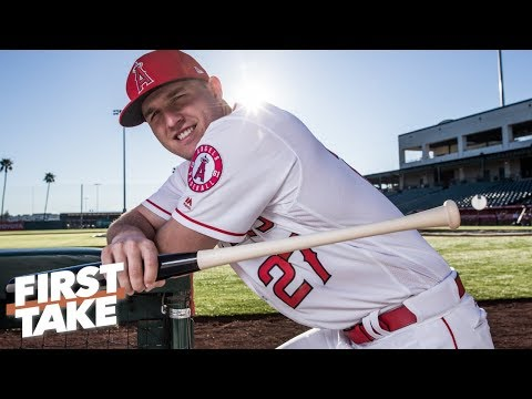 Mike Trout will outplay his $430M, 12-year deal with the Angels - Max Kellerman | First Take