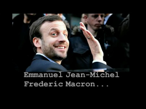 Laughable New French President Emmanuel Macron & his Bag of Tricks