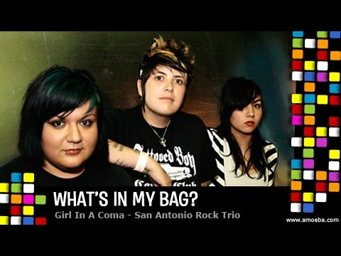 Girl In A Coma - What's In My Bag?
