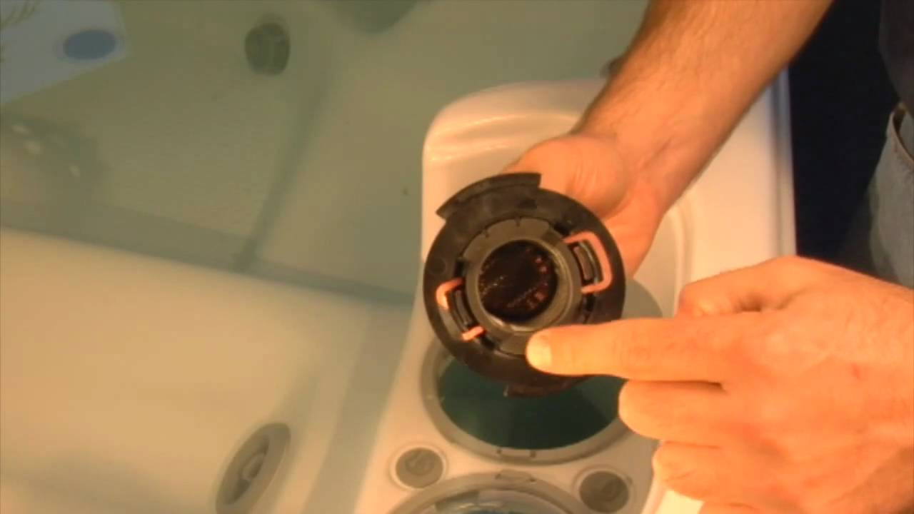 Dimension One Spas (hot tub) Filter Change Procedure - YouTube
