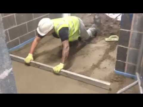 How to lay floor screed, call 01204 521 151, installing floor screed, underfloor heating screeding