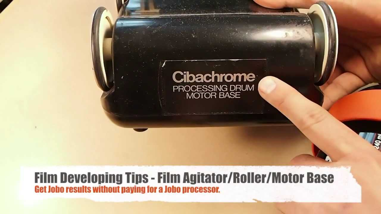Darkroom Tips: How to use a Cibachrome film roller / motor base / drum  processor