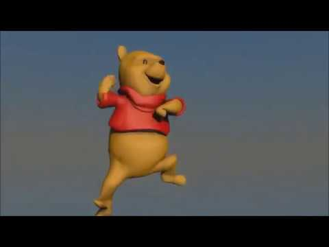 Winnie The Pooh dancing to Pitbull (full song)