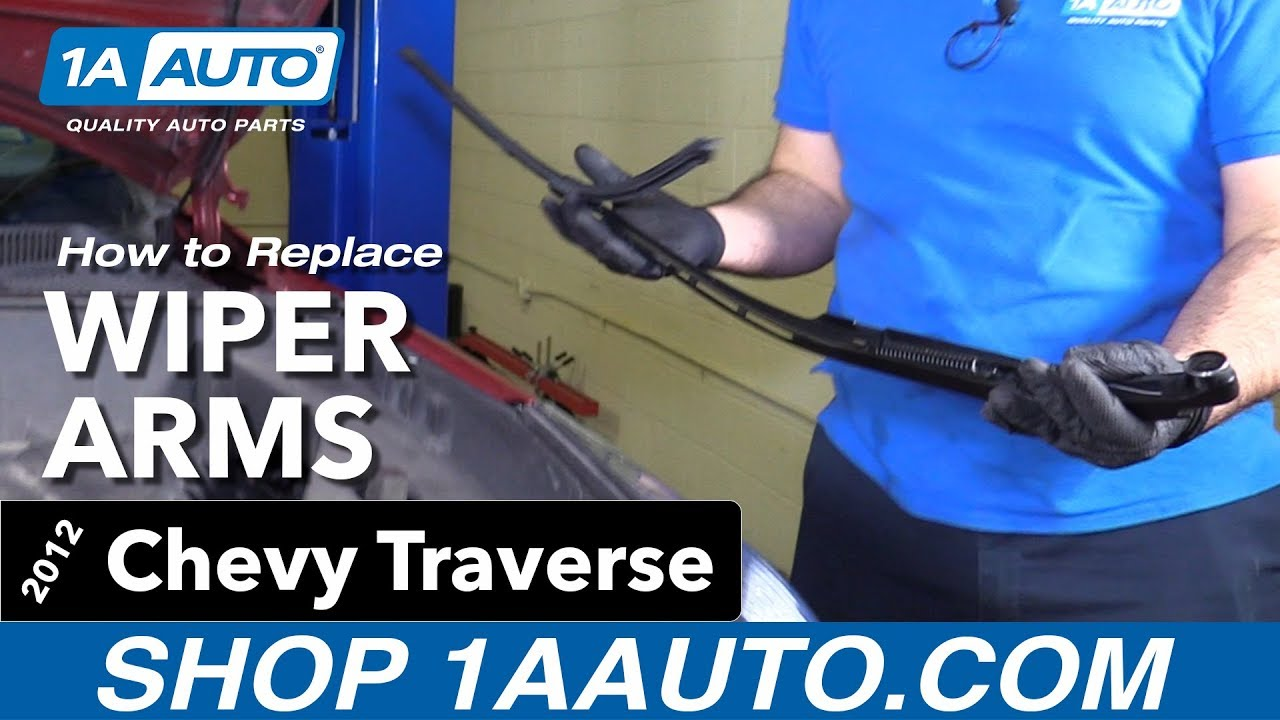 3d76e87d6c63 How to Replace Wiper Arms 09-17 Chevy Traverse - YouTube