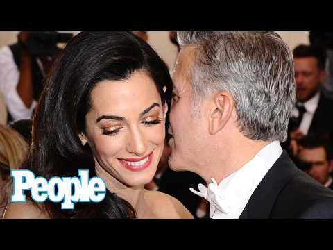 George Clooney Is Going to Be a Dad! Amal Clooney Is Pregnant With Twins | People Scoop | People