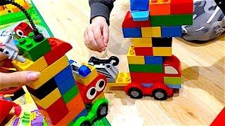 Lego Duplo машины - дома на колесах