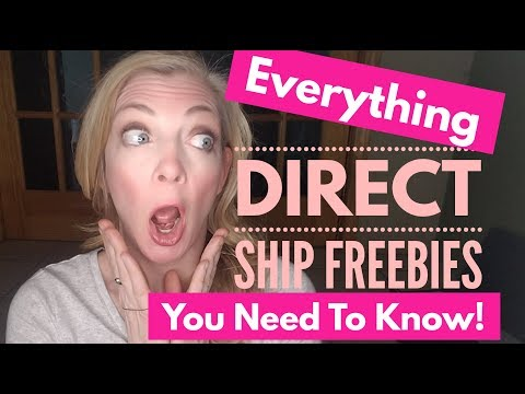 Direct Ship Freebies | Everything you Need To Know!