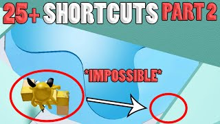 *PART 2* 25+ SHORTCUTS!! NEARLY IMPOSSIBLE | Tower of Hell ROBLOX