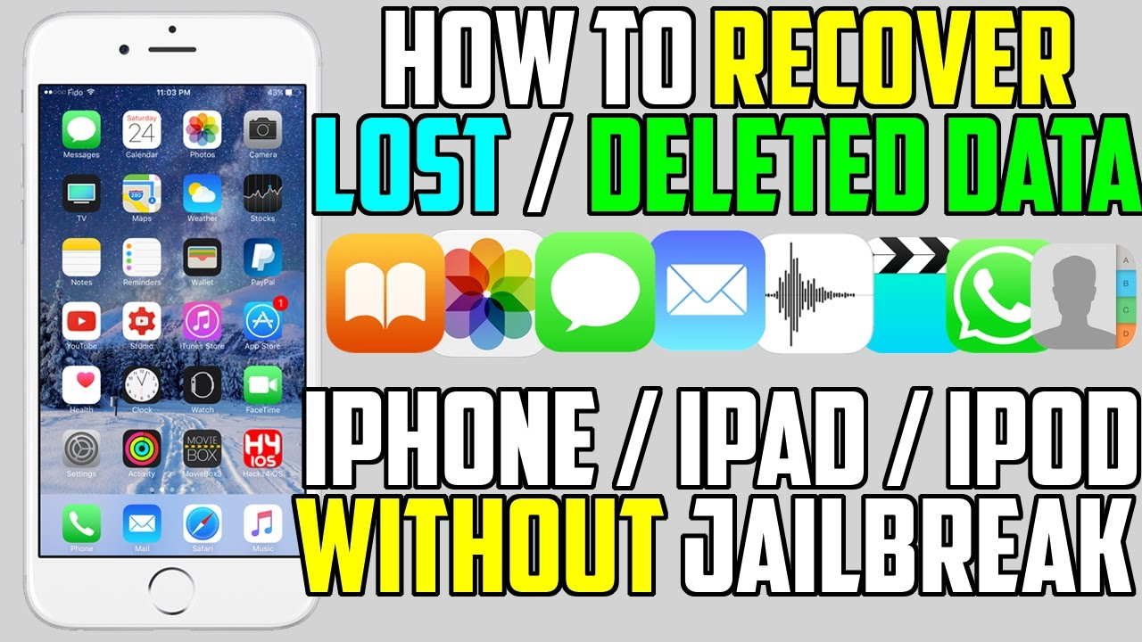 how to retrieve deleted emails on iphone how to recover lost deleted data photos 20257