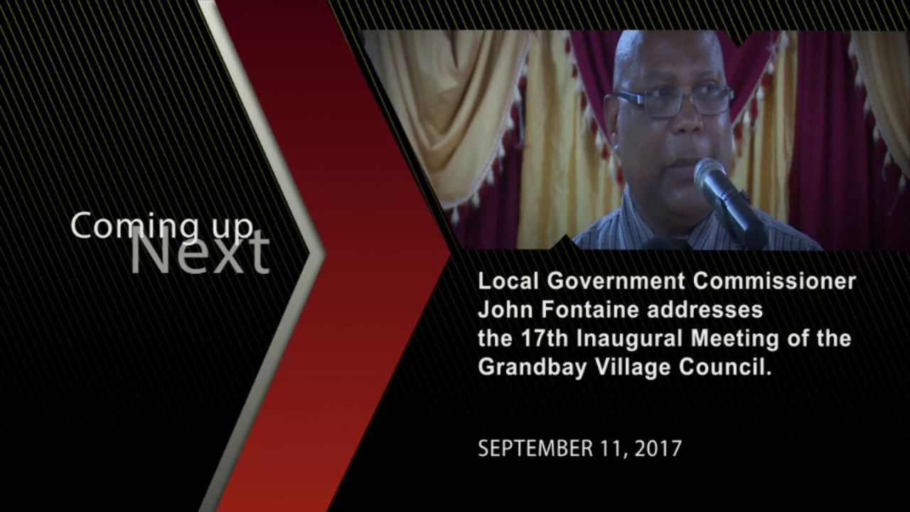 John Fontaine Grand Bay village council, September 11, 2017 - Dauer: 9 Minuten, 58 Sekunden