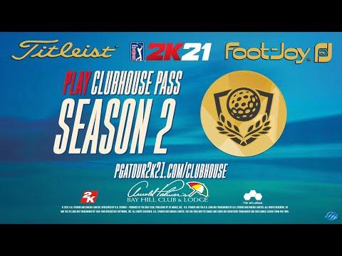 PGA TOUR 2K21 - CLUBHOUSE PASS SEASON 2