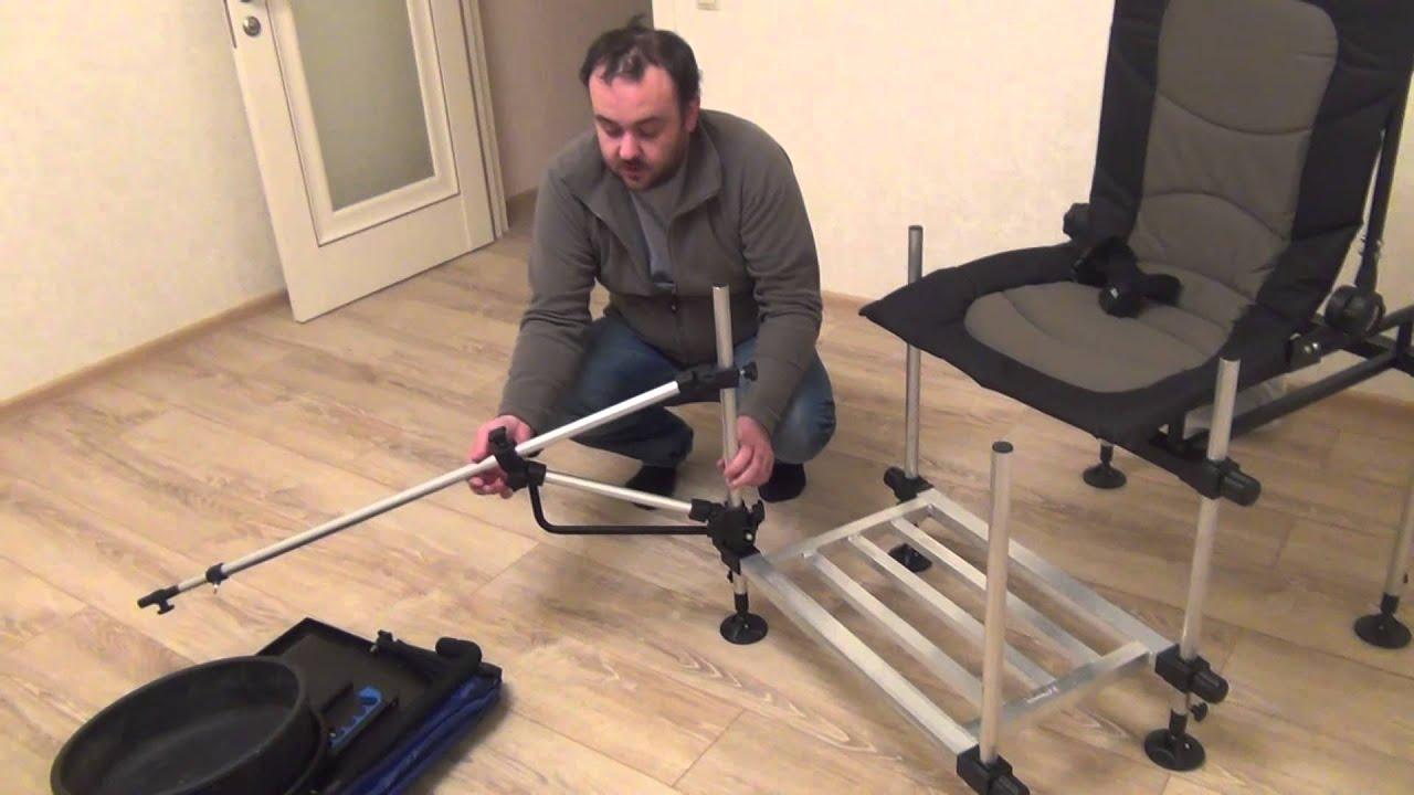 Трость стул для пожилого человека в процессе эксплуатации - YouTube