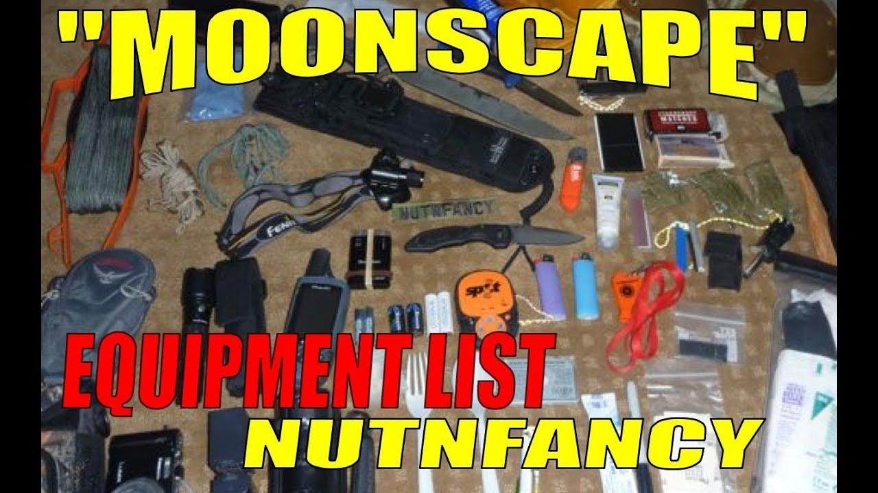 & Nutnfancy Backpack Loadout List: Moonscape Adventure - YouTube
