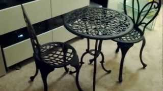 Bistro Set Table & Chairs Unboxing