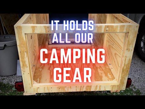 DIY Micro Trailer / The ULTIMATE Car Camping Setup (Part 5)