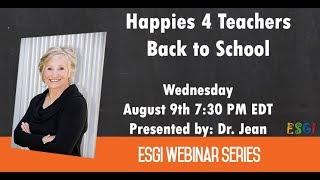 Happies 4 Teachers -- Back to School with Dr  Jean Feldman
