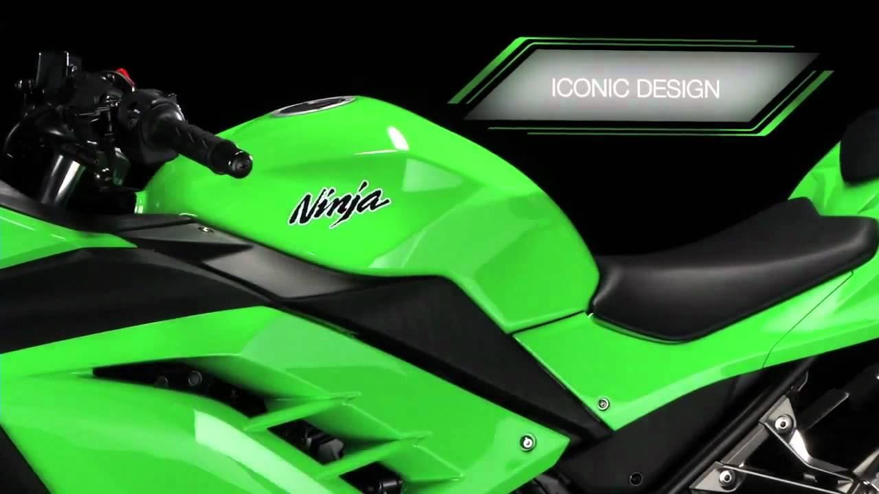 The New Kawasaki Ninja 300 Official Video Youtube