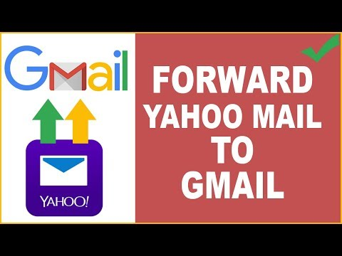 How can i forward my yahoo email to gmail account