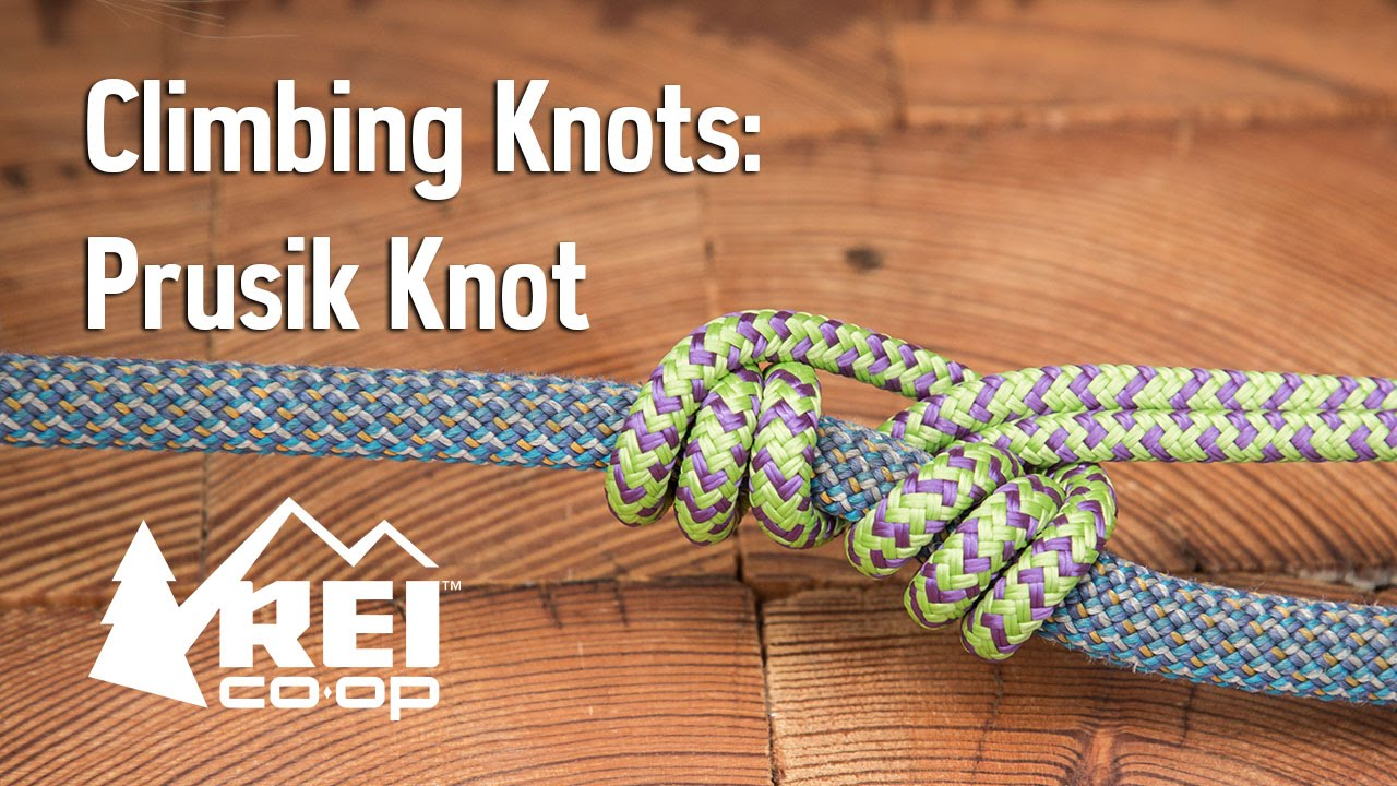 Rock Climbing: How to Tie a Prusik Knot