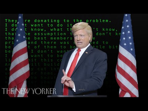 A Trump Speech Written By Artificial Intelligence | The New Yorker