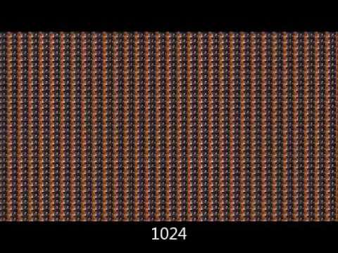 Bee Movie in 1 second 1,048,576 times