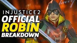 Injustice 2 - Official Robin Moveset and Breakdown