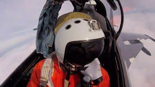 Уникальные кадры масштабных учений в Крыму, снятые с борта самолета