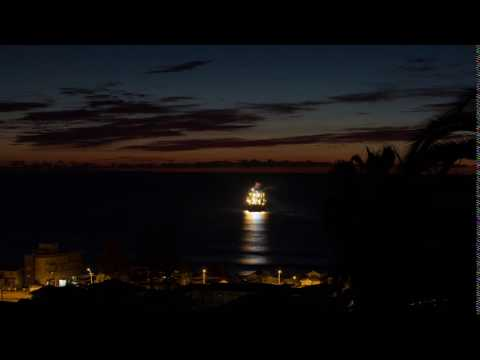 Ship in the Night - subsea cable