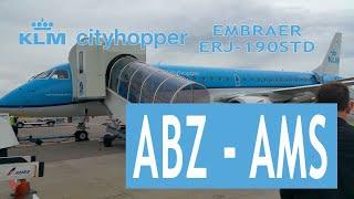 KLM Cityhopper KL1450: Aberdeen Dyce Int'l ABZ ✈ Amsterdam Schipol AMS