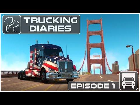 Trucking Diaries - Episode #1 (American Truck Simulator)