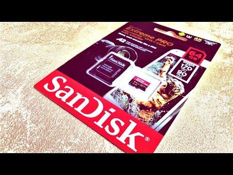 Sandisk Extreme Pro MicroSDXC V30 A2 170/90 MB/s 64GB. Тестик (новинка 2018)!)