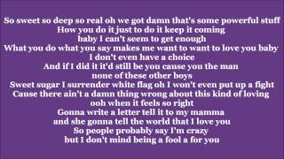 Fool for you - Ceelo Green ft. Melanie Fiona (Lyrics)