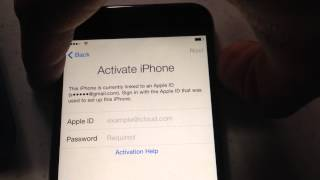 iCloud Removal for iPhone 6 TELCEL (America Movil)